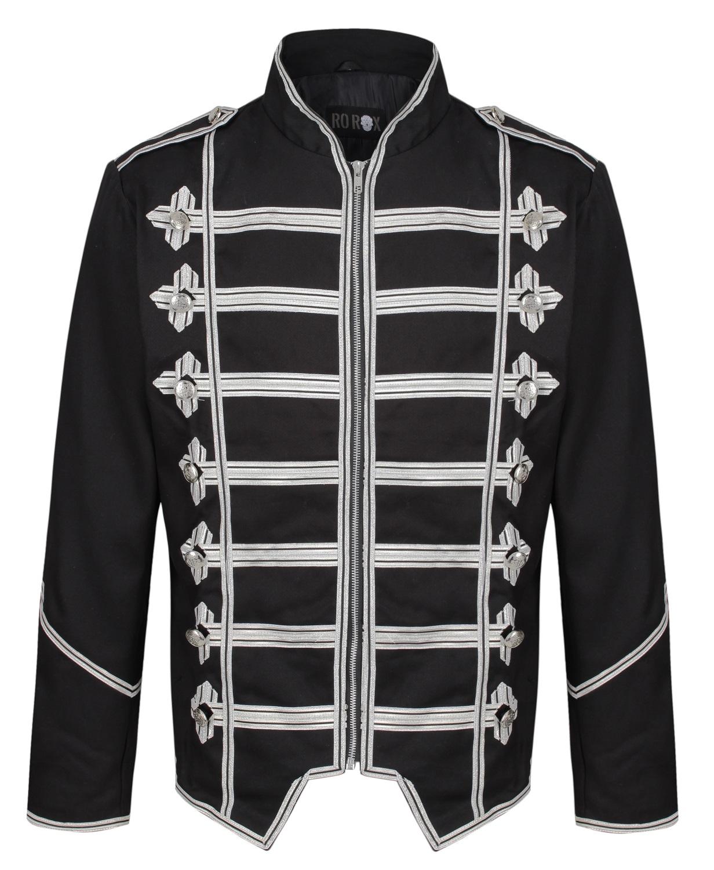 RO ROX Herren Militär Trommler Parade Gothic Jacke Emo Steampunk Adam Ant | eBay